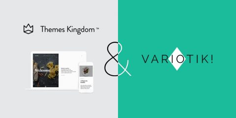 Themes Kingdom'dan Aperitive Variotik'de!